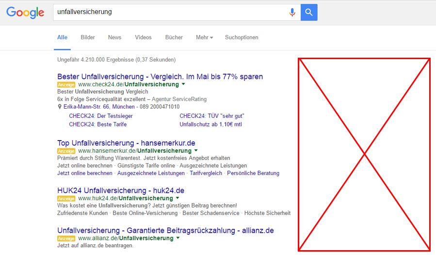 Der Wegfall Der Rechten Spalte Von Google Adwords Ein Fazit Eminded
