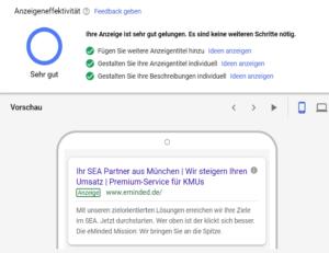 Responsive Anzeige in Google Ads