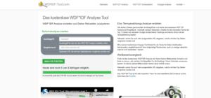 WDF*IDF Tools